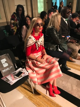 Fashion Show bei London Fashion Week 2017