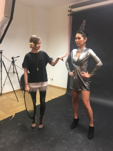 Fashion Styling beim Fotoshooting